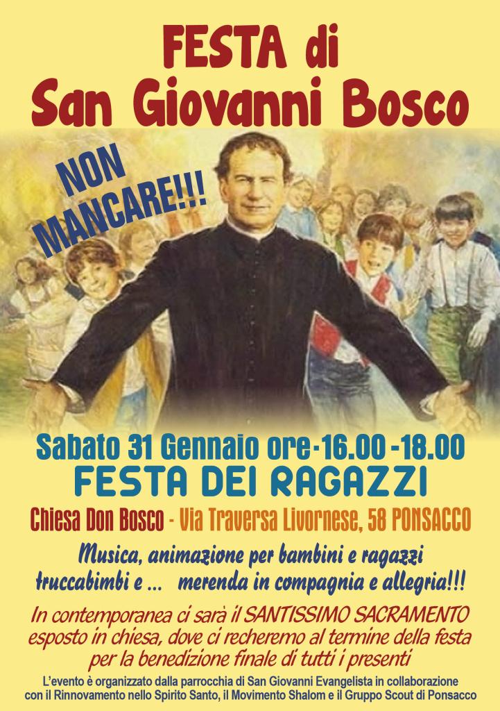 Don Bosco volantino
